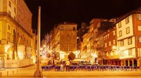 Ribeira Square in Porto Royalty Free Stock Image