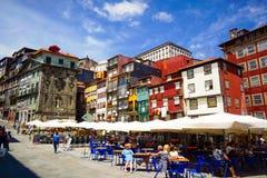 Ribeira Square Royalty Free Stock Image