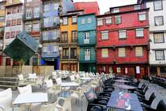 Ribeira square Stock Photography