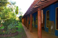 Ribeirao Preto, region Minas Gerais, Brasilien: ett ställe för avkopplinglokalplantage arkivfoto