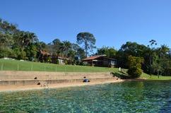 Ribeirao Preto, regionu minas gerais, Brazylia: miejsce dla relaksu miejscowego hacjend Zdjęcie Royalty Free