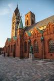 Ribekathedraal in Denemarken Royalty-vrije Stock Foto