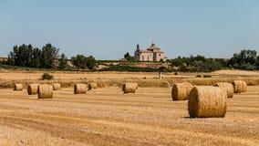 Ribera del Duero landscape Stock Image