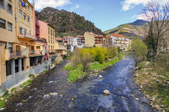 Ribes de Fresser. Rivers Freser and Rigard Stock Image