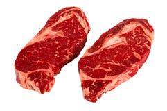 Ribeye牛排 免版税库存图片
