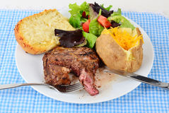 Ribeye Medium Rare Stock Image