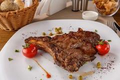 Ribeye steak Royaltyfri Bild