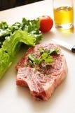 Ribeye steak Stock Photos