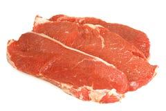 Ribeye steak. A prime cut of a raw ribeye beef steak Stock Images