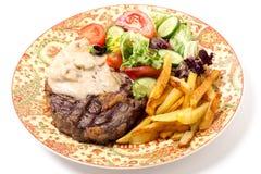Ribeye steak dinner Royalty Free Stock Photo
