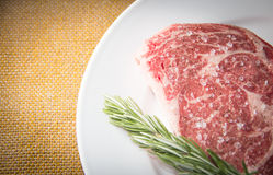 Ribeye Steak Royalty Free Stock Photo