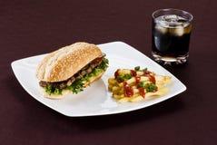 Ribeye steak meal Stock Photography