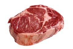 Ribeye Steak Raw 2 stock photography