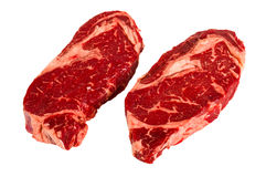 Ribeye steaks Royalty Free Stock Images