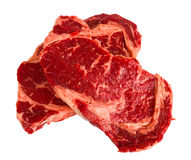 Ribeye steaks Stock Photo