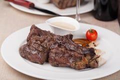 Ribeye stek Zdjęcia Stock