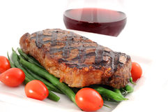 ribeyesteak Arkivbilder