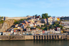 Ribeyr's region in Porto, Portugal Stock Photos