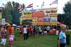 Ribfest Stock Images