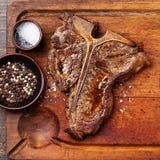 Riblapje vlees stock afbeelding