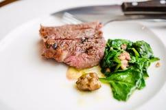 Riblapje vlees Royalty-vrije Stock Afbeelding