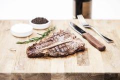 Riblapje vlees Stock Fotografie
