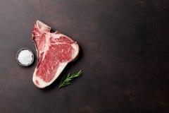 Riblapje vlees Stock Afbeeldingen