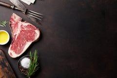 Riblapje vlees Royalty-vrije Stock Afbeeldingen