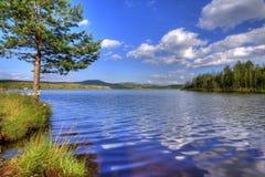 湖ribnicko 免版税图库摄影