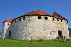 Ribnik kasztel, Chorwacja Obrazy Royalty Free