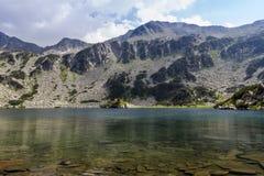 Ribno Banderishko Lake Pirin Bulgaria Stock Images