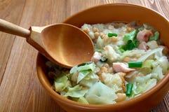Ribollita famous Tuscan soup Stock Image