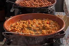 Ribollita soup Royaltyfria Bilder