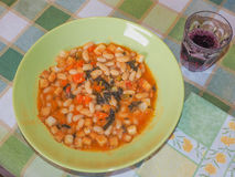 Ribollita Tuscan soup Stock Photos