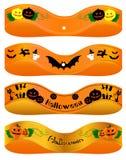 Ribon de Halloween Ilustração do Vetor
