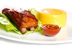 Ribs Royalty Free Stock Image