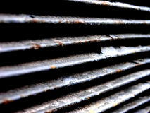 Ribs. Vent ribs of an air conditioner Royalty Free Stock Image