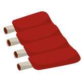Ribs bbq  isolated icon design Royalty Free Stock Images