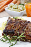 Ribs with honey Stock Images