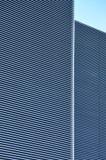 Ribs - metal wall paneling Stock Images