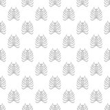 Ribs seamless pattern. On white background. Human bones design vector illustration Royalty Free Stock Photography