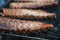 Ribs Trio Royalty Free Stock Photography