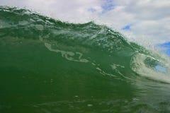 волна трубопровода rica океана Косты Стоковая Фотография