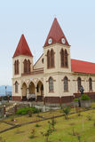 Rica-Kirche stockbilder