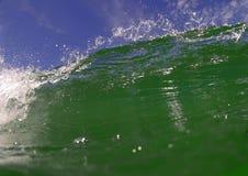 Rica-Welle und Himmel Stockfoto