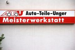 Ricambi auto Unger Fotografia Stock