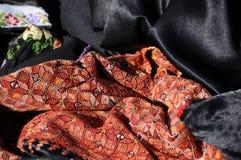 Ricamo beduino Fotografia Stock Libera da Diritti