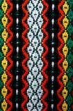 Ricamo bulgaro tradizionale Fotografie Stock Libere da Diritti