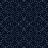 Ricamo giapponese tradizionale - sette tesori Immagini Stock