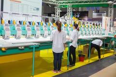 Ricamo industriale Immagine Stock